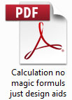 CALCULATION - NO MAGIC FORMULA